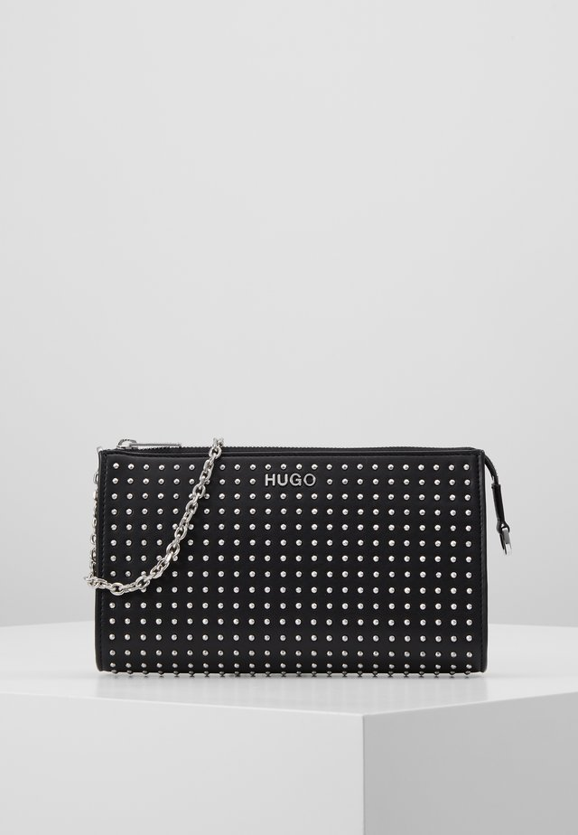VICTORIA MINI BAG STUDS - Sac bandoulière - black