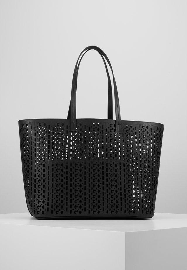 CHELSEA SHOPPER CUT OUT - Shopping Bag - black