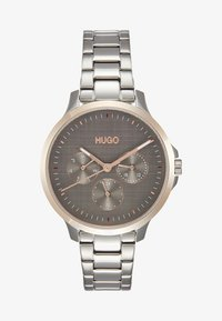 HUGO - DESIRE - Horloge - silver-coloured/rosegold-coloured
