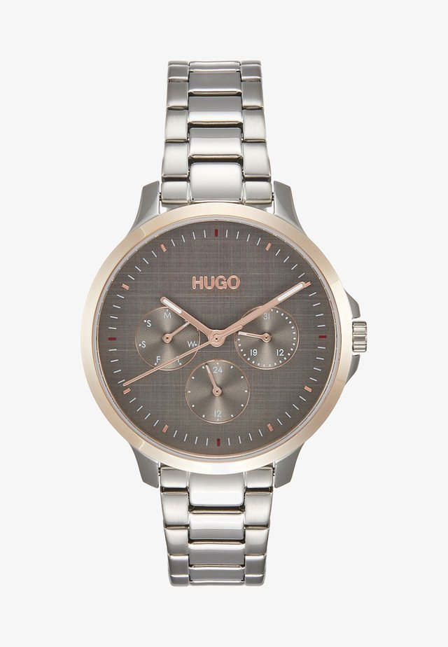 DESIRE - Horloge - silver-coloured/rosegold-coloured