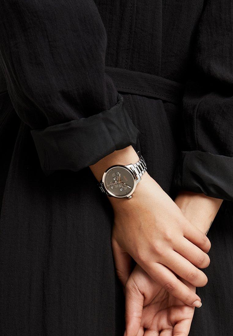 HUGO - DESIRE - Horloge - silver-coloured/rosegold-coloured