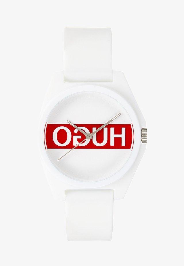 PLAY - Uhr - weiß