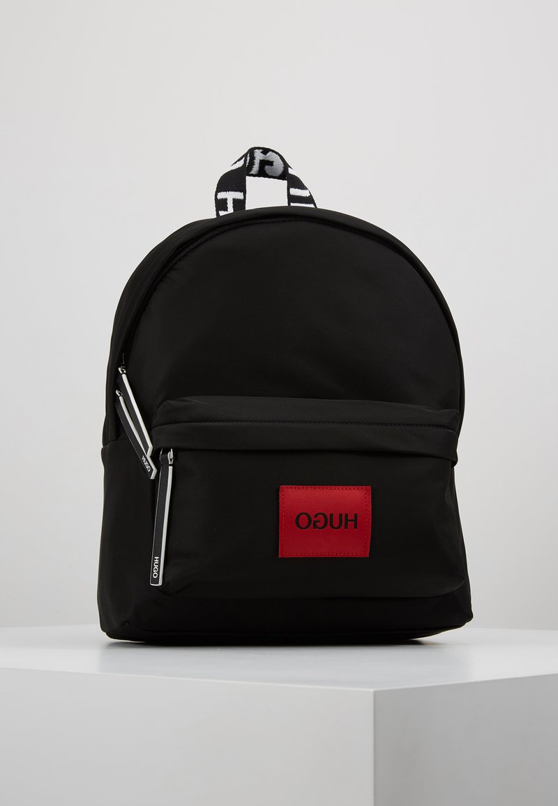 HUGO - RECORD BACKPACK - Plecak - black