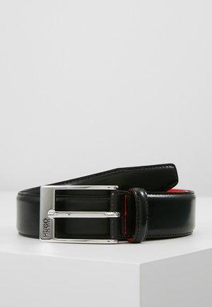 BARNEY - Formální pásek - black