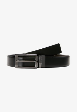 ELVIO - Formální pásek - black