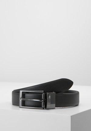 GILVIO - Formální pásek - black