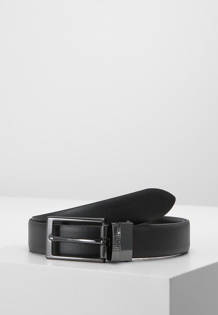 HUGO - GILVIO - Formální pásek - black