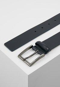 HUGO - GEID - Formální pásek - dark blue - 2