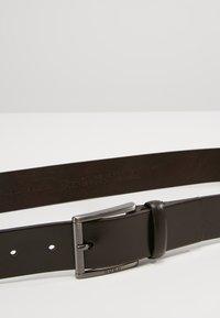 HUGO - GEID - Formální pásek - dark brown - 3