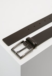 HUGO - GEID - Formální pásek - dark brown - 2