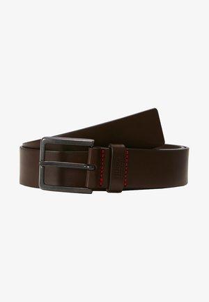 GIONIO - Cinturón - dark brown