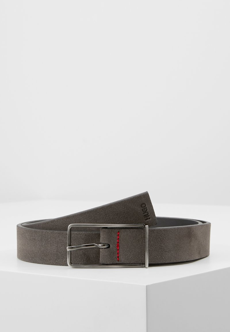 HUGO - GIOS - Ceinture - dark grey