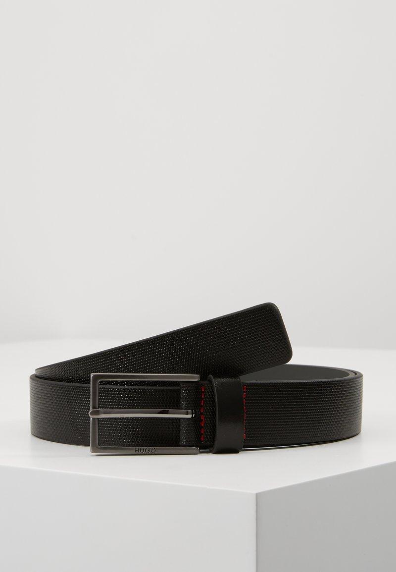HUGO - GANTIS - Pásek - black