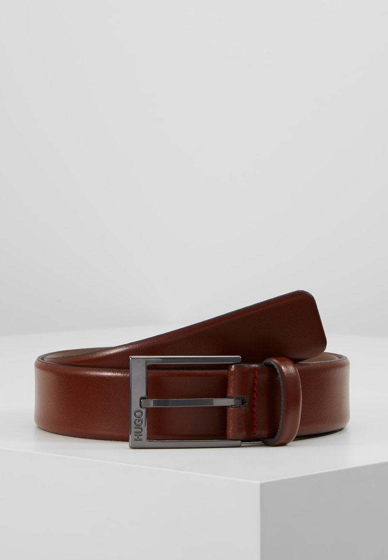 HUGO - GARNEY - Belt - medium brown