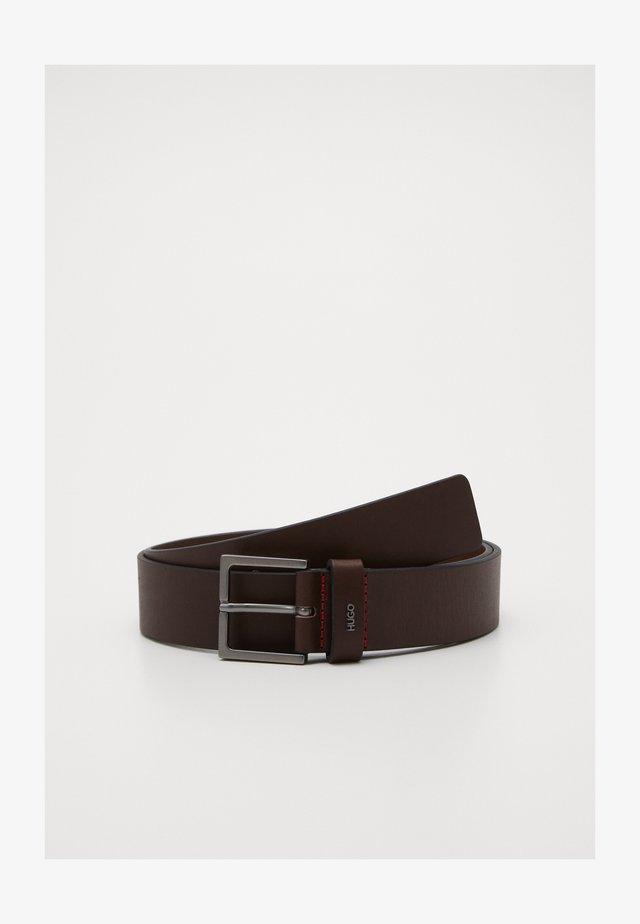 GIOVE - Pásek - dark brown