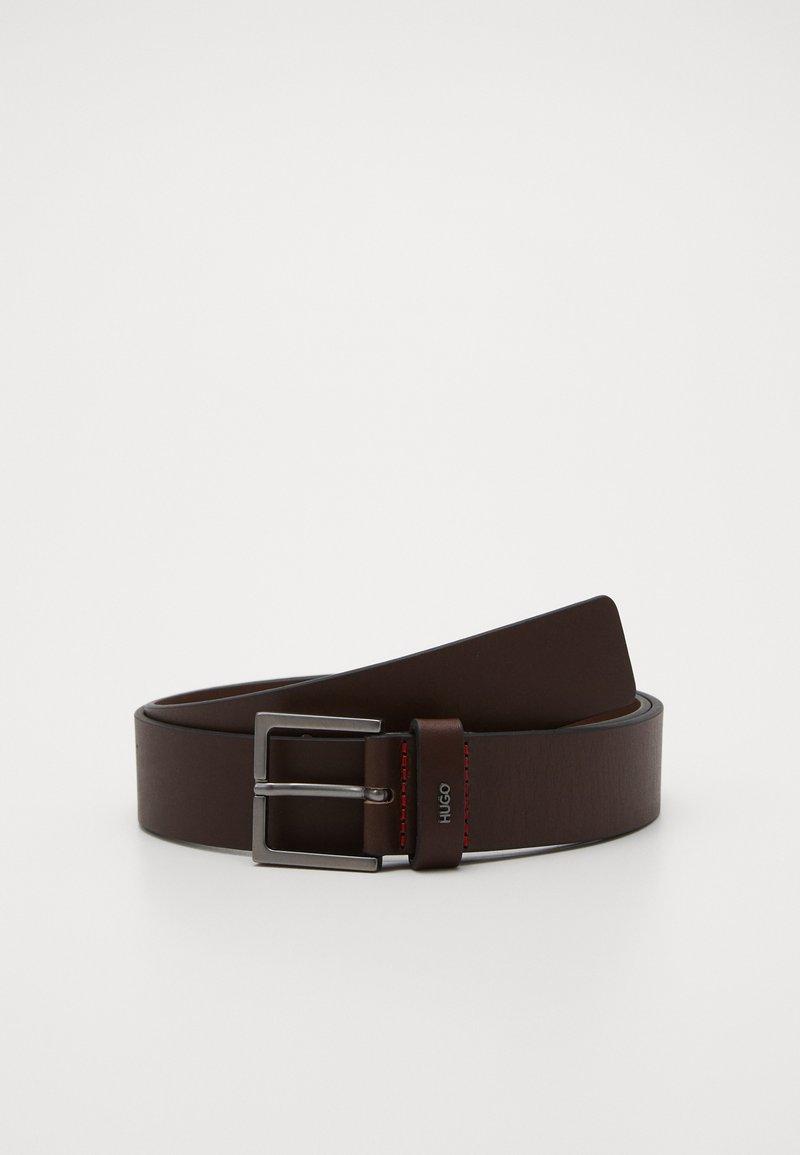 HUGO - GIOVE - Pásek - dark brown