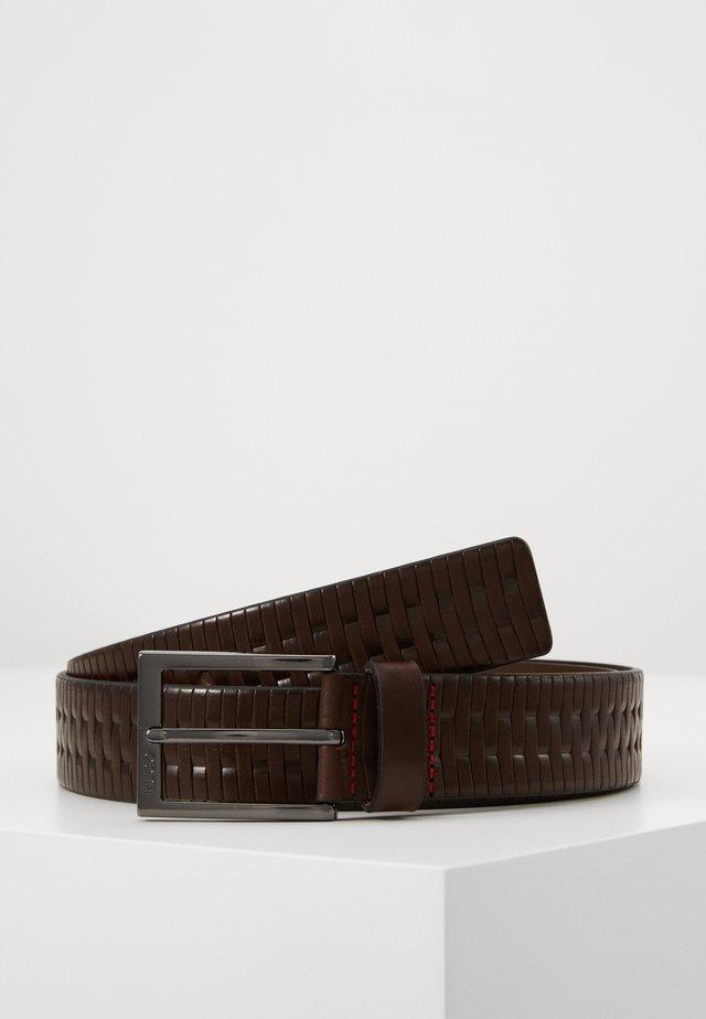 GERRIES - Pásek - dark brown