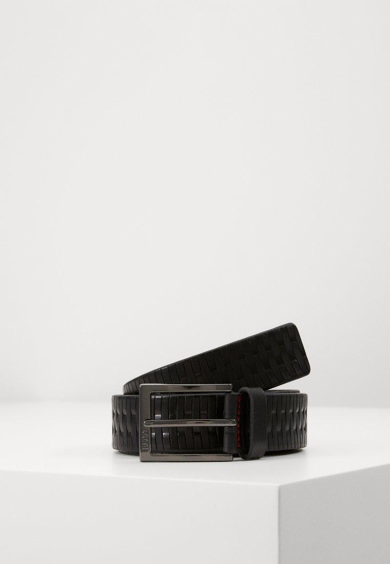 HUGO - GERRIES - Pásek - black