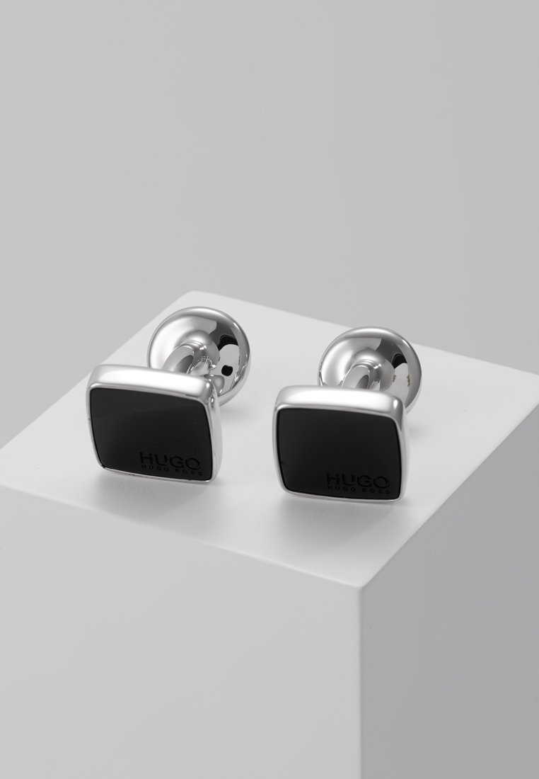 HUGO - Cufflinks - black