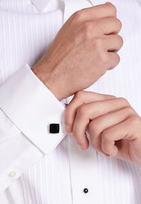 HUGO - Cufflinks - black - 1