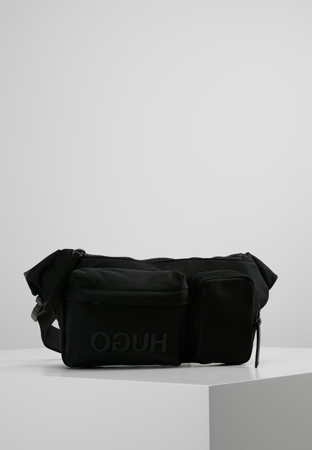 RECORD WAIST BAG - Sac banane - black