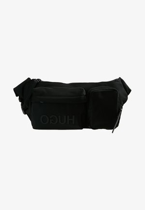 RECORD WAIST BAG - Saszetka nerka - black