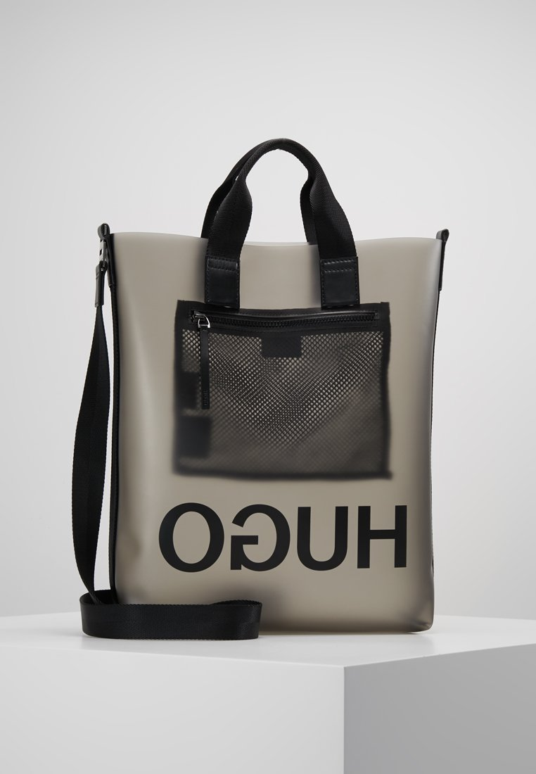 HUGO - XRAY TOTE - Shopping bag - black