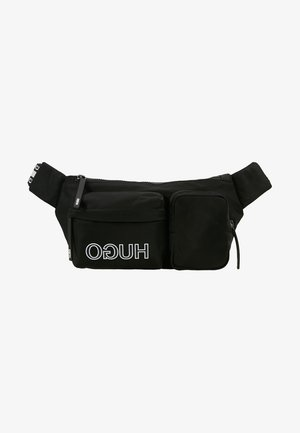 RECORD WAISTBAG - Saszetka nerka - black