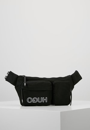 RECORD WAISTBAG - Ledvinka - black
