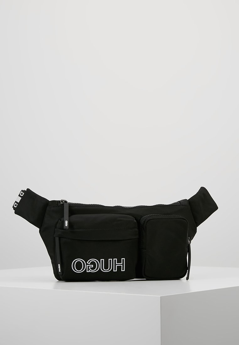 HUGO - RECORD WAISTBAG - Ledvinka - black