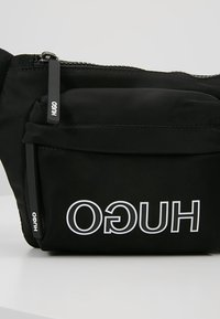 HUGO - RECORD WAISTBAG - Ledvinka - black - 7