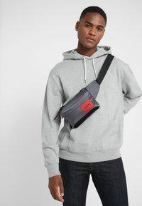HUGO - KOMBINAT BUMBAG MINI - Bum bag - dark grey - 1