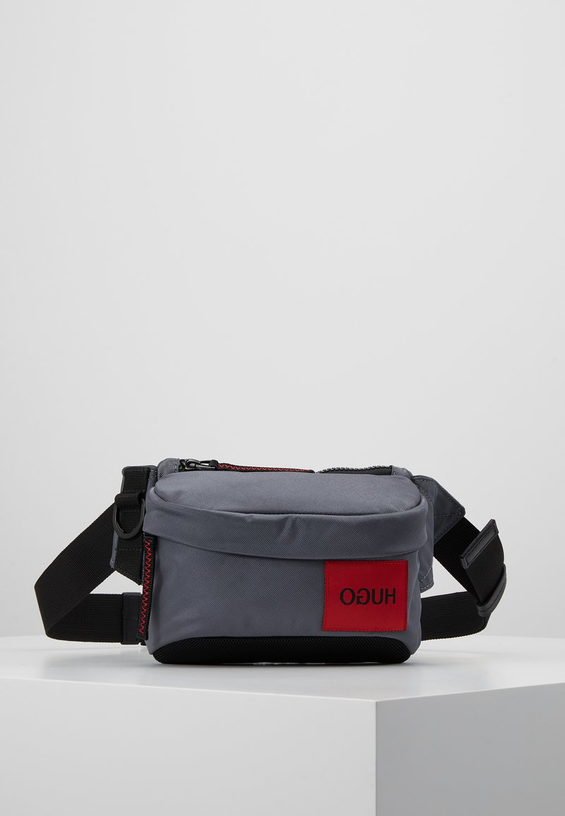 HUGO - KOMBINAT BUMBAG MINI - Bum bag - dark grey