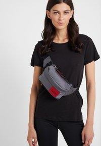 HUGO - KOMBINAT BUMBAG MINI - Bum bag - dark grey - 5