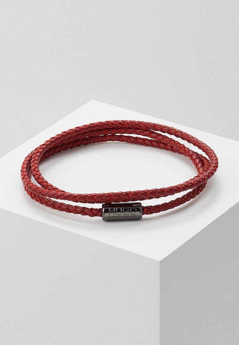 HUGO - ELEMENT - Náramek - medium red