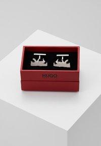 HUGO - BEAR - Manžetové knoflíčky - silver-coloured - 4