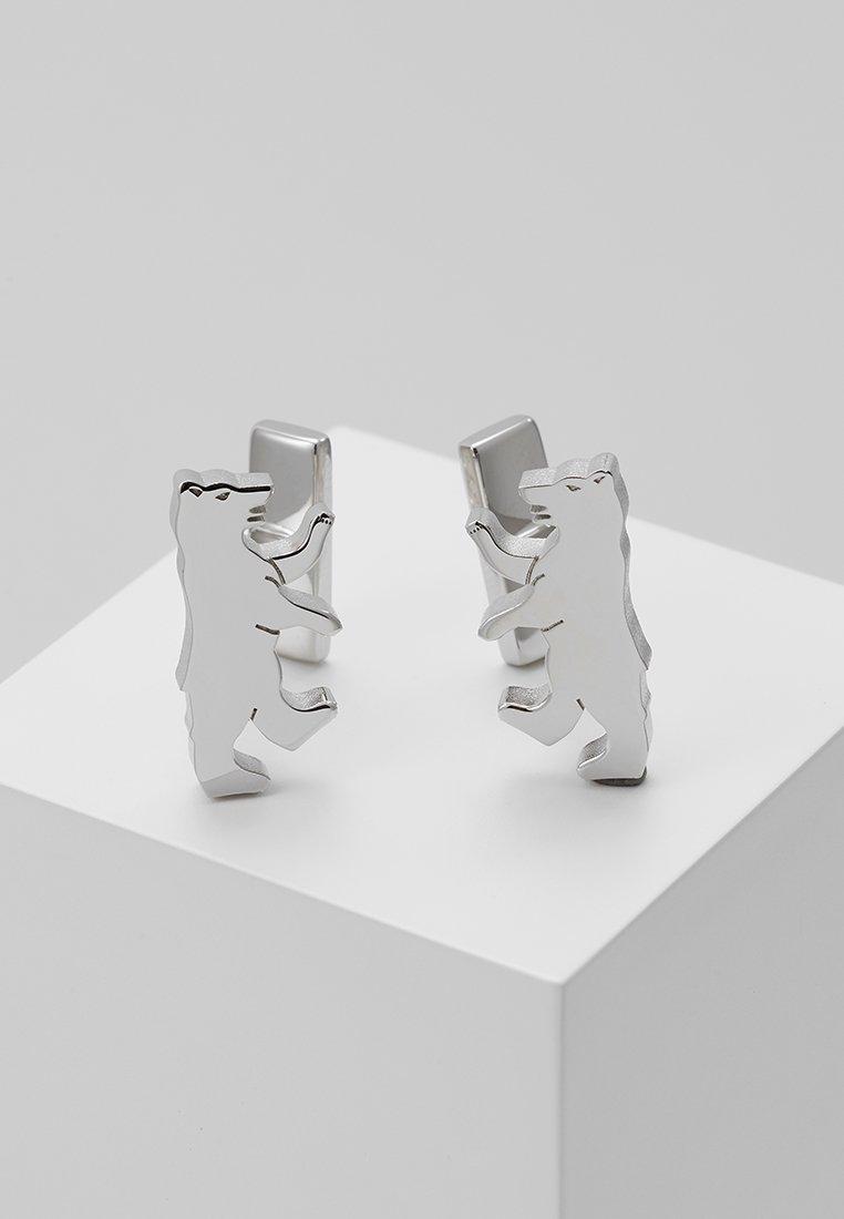 HUGO - BEAR - Manžetové knoflíčky - silver-coloured