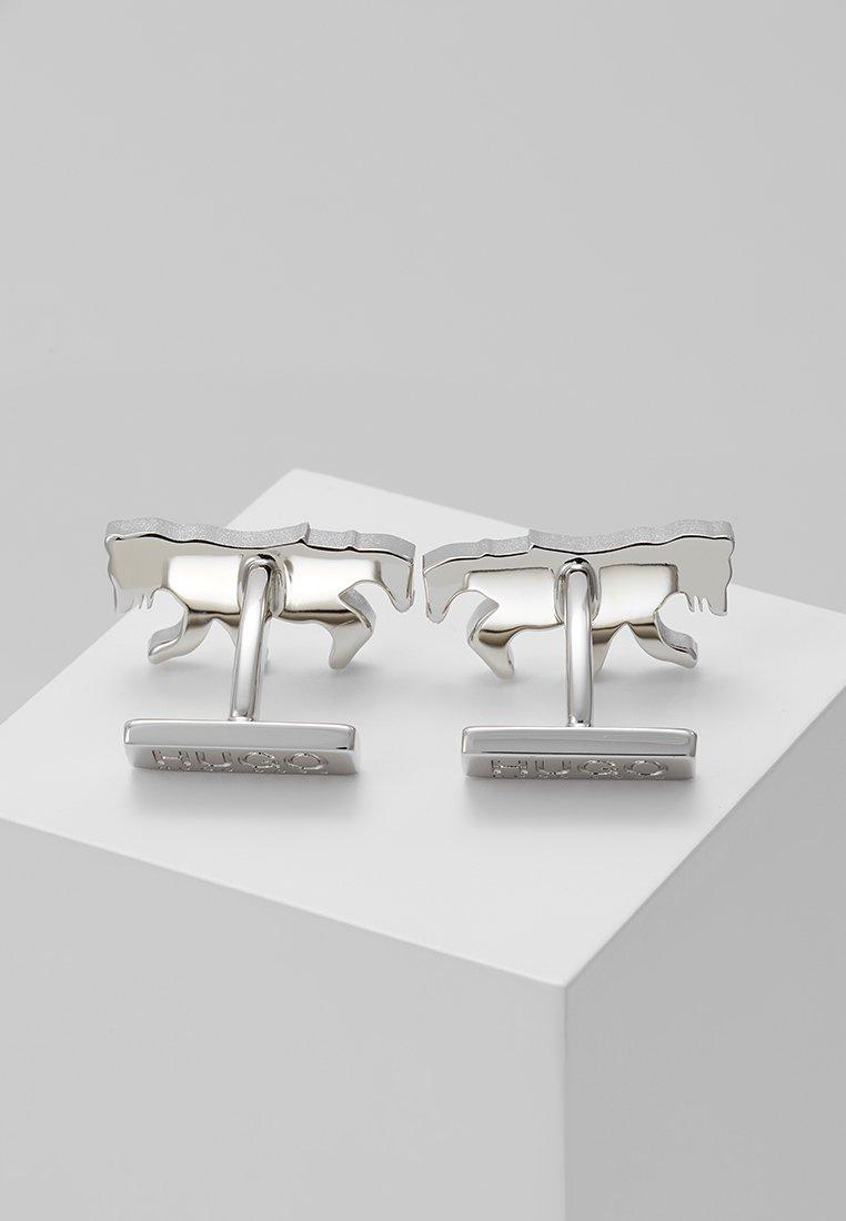 Silver De Manchette coloured Hugo BearBoutons Ybfy6g7v