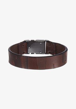 E-CAMU-BRACELET - Náramek - dark brown