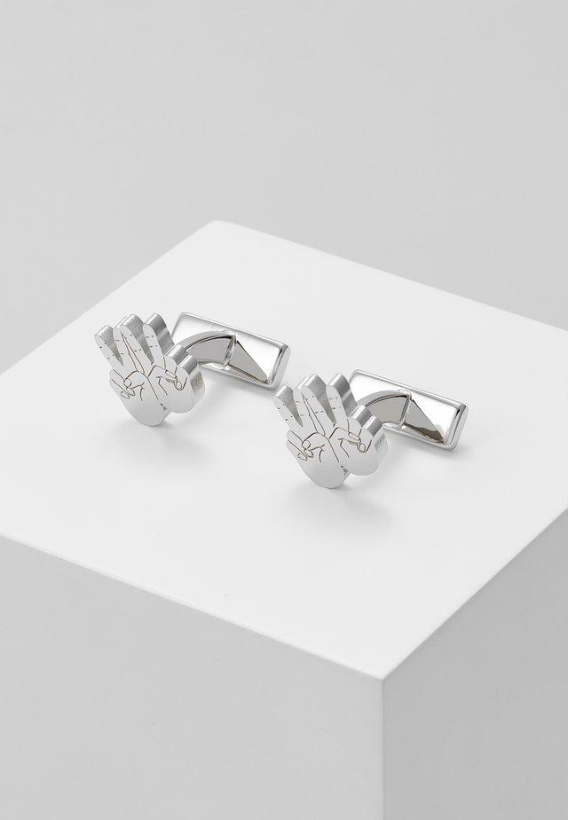 HAND - Boutons de manchette - silver-coloured