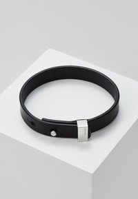 HUGO - E-PULL BRACELET - Armband - black - 0