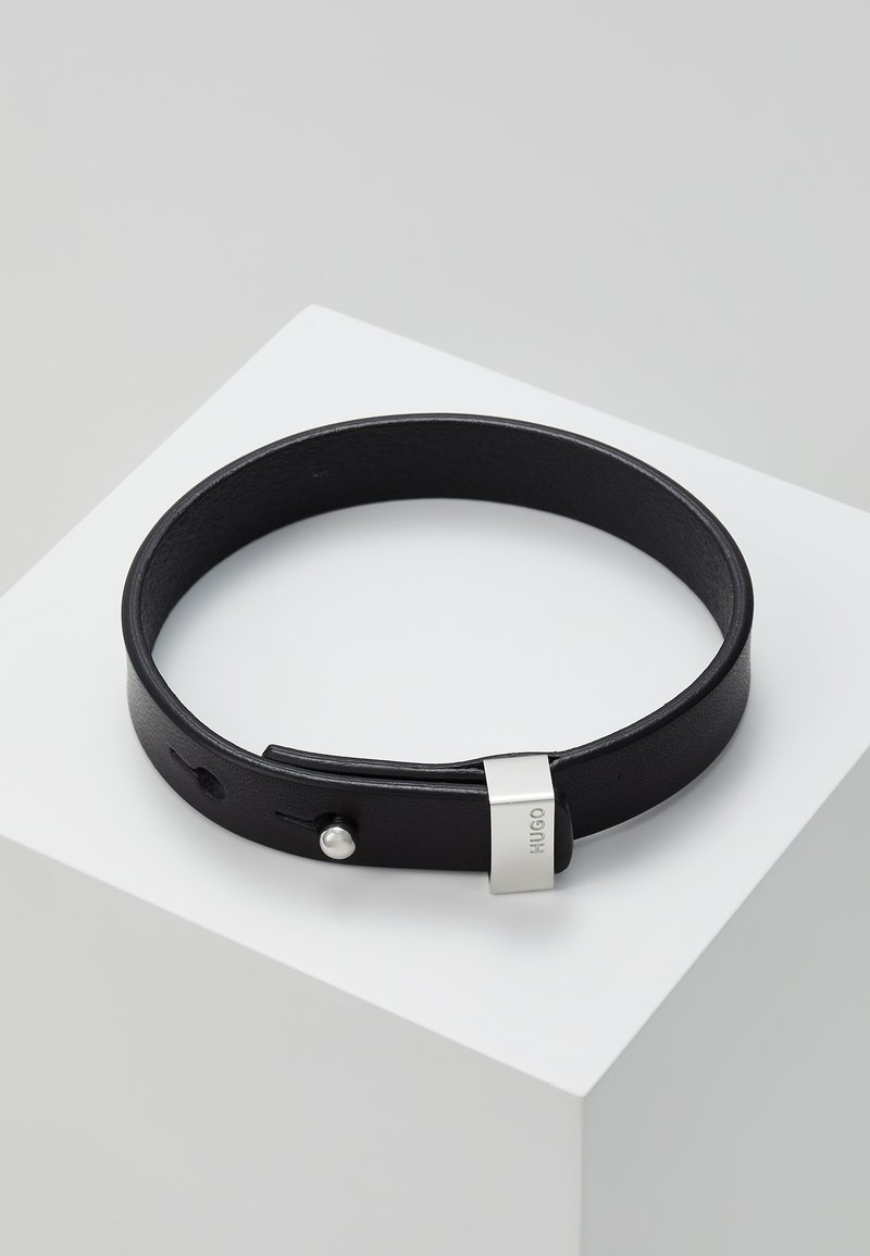 HUGO - E-PULL BRACELET - Armband - black