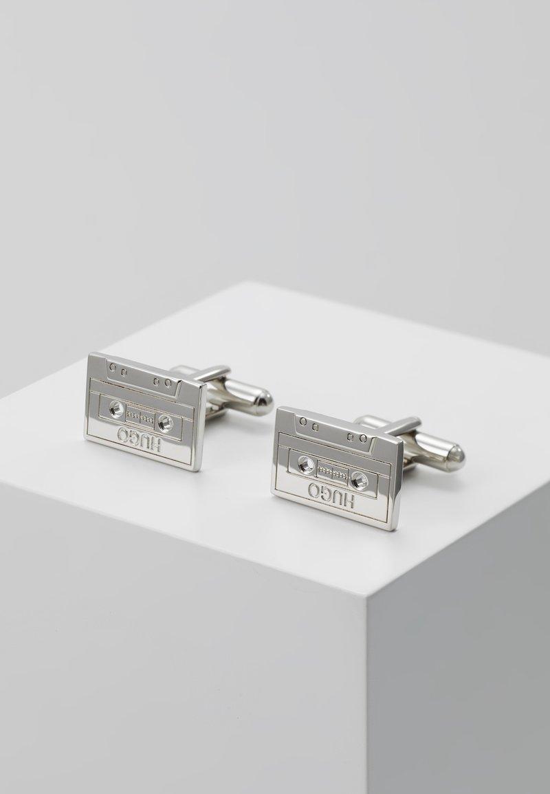 HUGO - E-TAPE  - Manchetknapper - silver-coloured