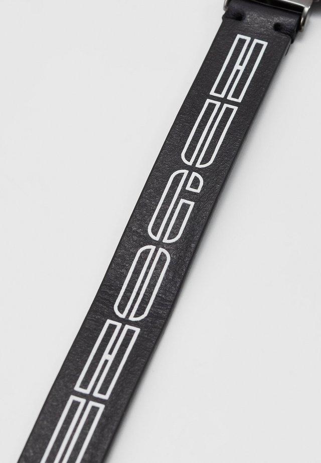 LOGO BRACELET - Armband - black