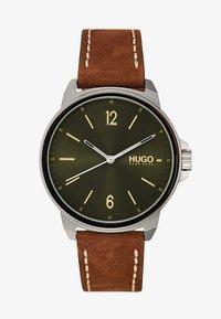 HUGO - LEAD - Watch - brown - 1