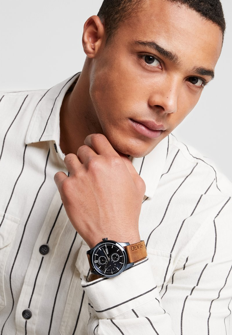 HUGO - DISCOVER - Watch - brown