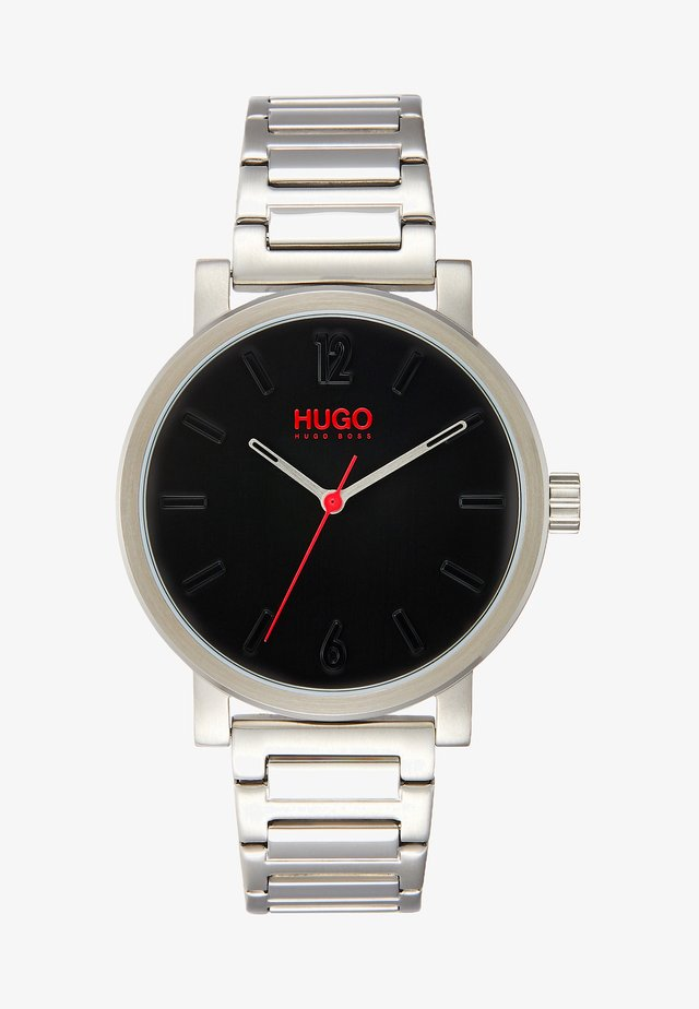RASE - Klocka - silver-coloured/black