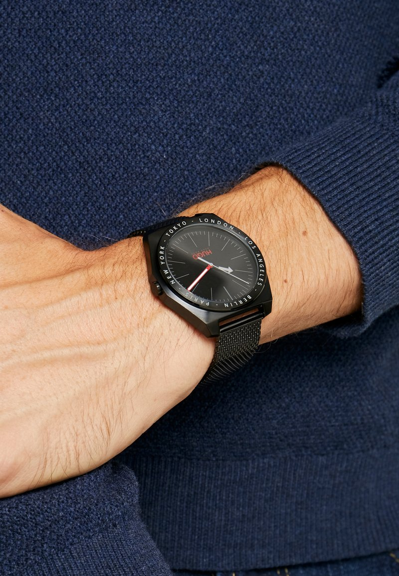 HUGO - ACT - Uhr - black