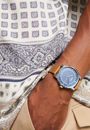 REVEAL - Horloge - brown/blue