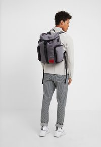 HUGO - KOMBINAT BACKPACK  - Zaino - dark grey - 1